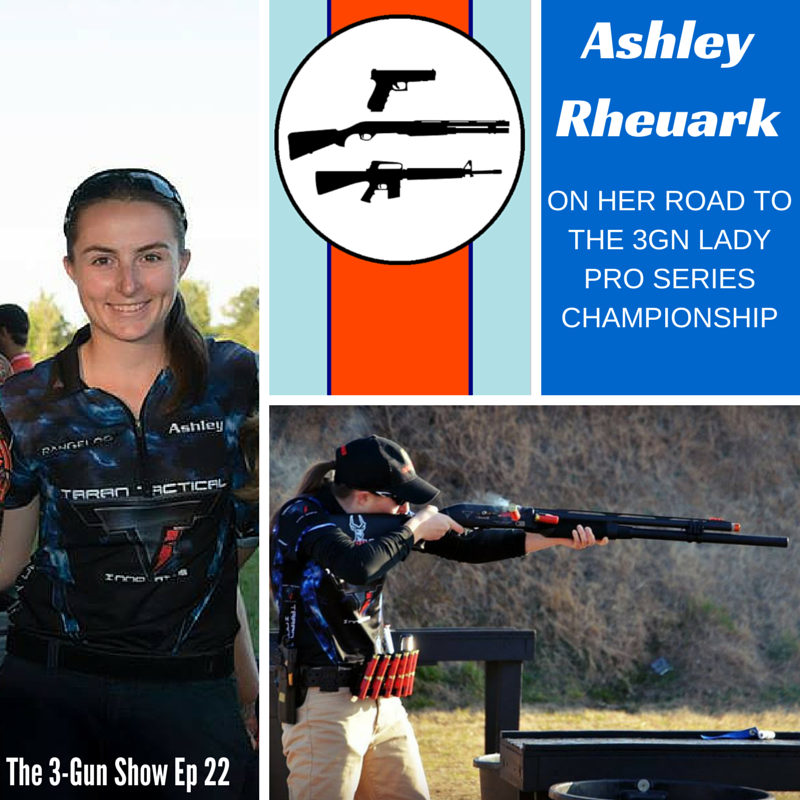 Ashley Rheuark 3-Gun Nation Lady Pro Series