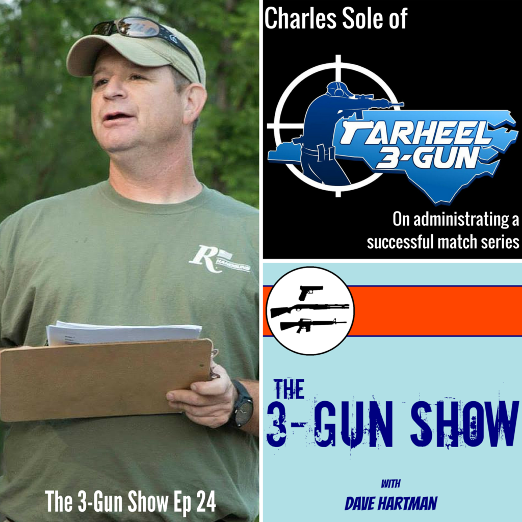 Charles Sole of Tarheel 3-Gun