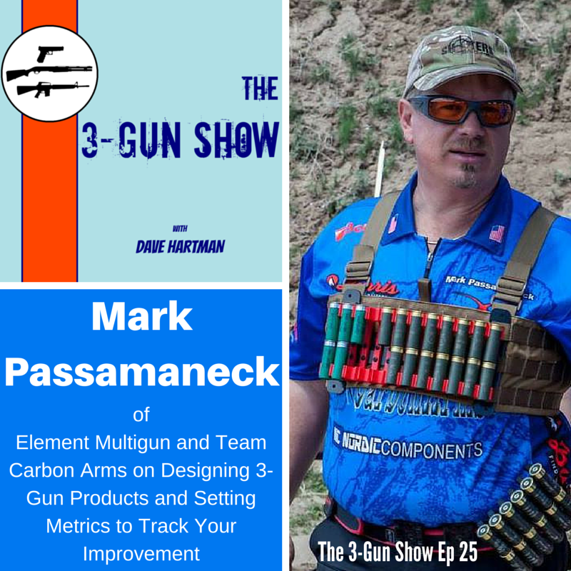 Mark Passamaneck of Carbon Arms and Element Multigun