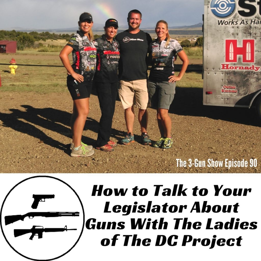 90: How to Talk to Your Legislator About Guns With The Ladies of The DC Project